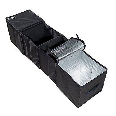 Deler Foldable 4-Compartment Trunk Organizer with Cooling