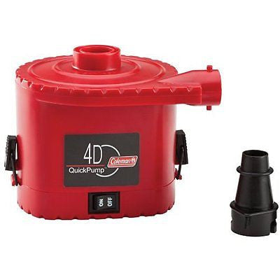 Coleman 4 D Battery QuickPump