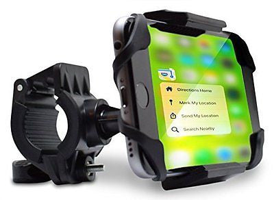 Teslan Trekker Bike Mount Phone Holder for iPhone and Android Smartphones, Bicyc