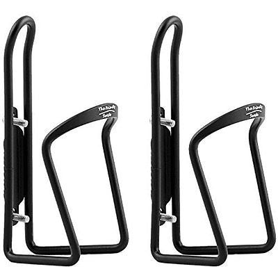 The Friendly Swede Alloy Bicycle Water Bottle Holder Cage (2 Pack)