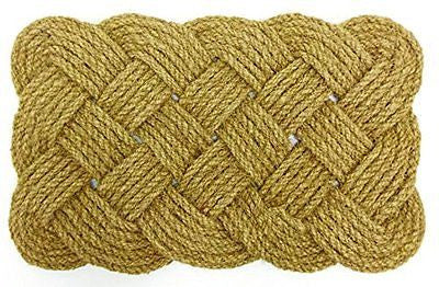 Iron Gate - Natural Jute Rope Woven Doormat 18x30 - Single Pack