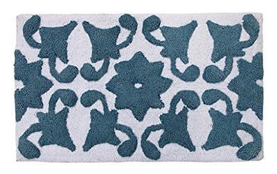 WARISI Royal Collection Designer SPA Cotton Bath Rug, 34
