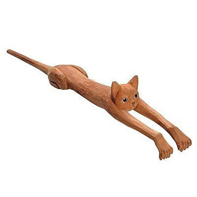 Funny Basswood Cat Back Scratcher - Exclusive From What On Earth