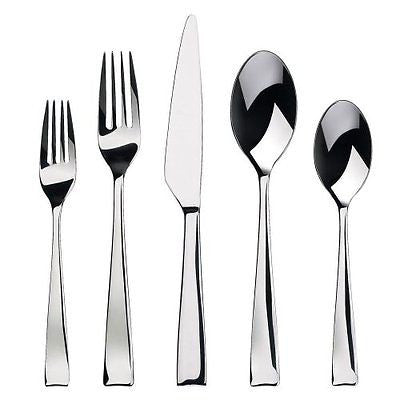 Gourmet Settings Strand 20-Piece Flatware Set Service for 4