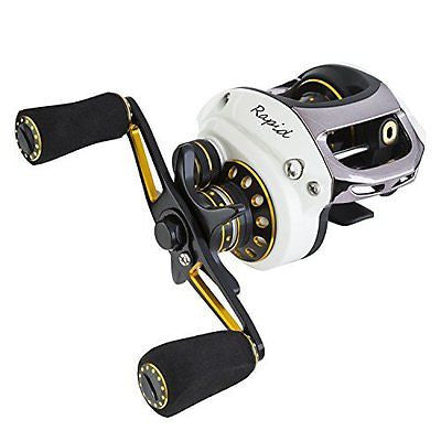Rapid Baitcaster Reels 6.5:1 Gear Low Profile Baitcast Fishing Reels