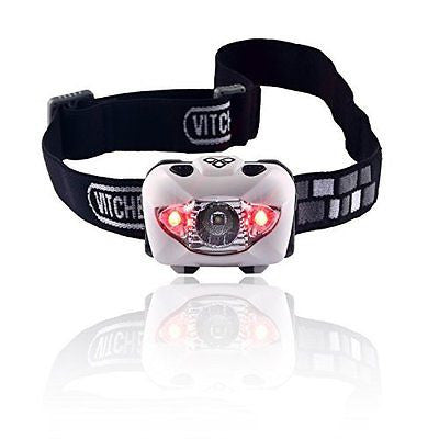 Brightest & Best Led Headlamp Flashlight with Red Lights for Reading