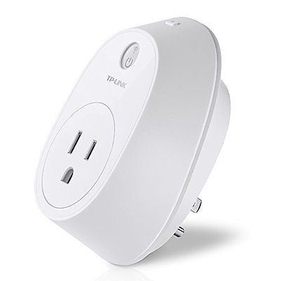 Wi-Fi Smart Plug w/ Energy Monitoring Controls Your Electronics from Anywhere