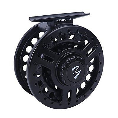 Maxcatch Explorer Large arbor Fly reel,Fly reel with spooled fly fishing line