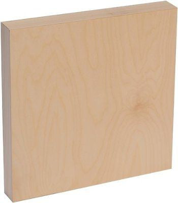 American Easel 12 Inch by 12 Inch by 1 5/8 Inch Deep Cradled Painting Panel