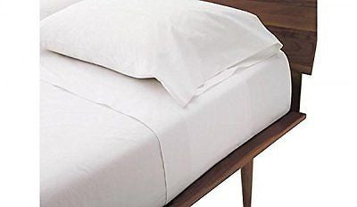 Queen Sleeper Sofa Bed Sheet Set - White 100% Cotton 800 Thread Count