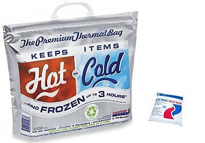 Insulated Bag & Hot Cold Pack Bundle Thermal Bag Hot Cold Bag