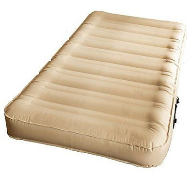Twin Air Bed with Automatic Electric Pump (Puncture & Stretch Resistant)