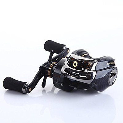 SHISHAMO Korean Technology LB200 Baitcasting Reel 18 Ball Bearings Carp Fishing