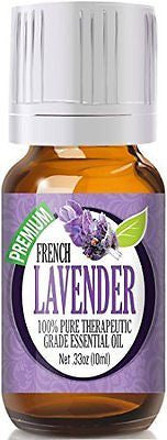 French Lavender 100% Pure, Best Therapeutic Grade Essential Oil - 10ml
