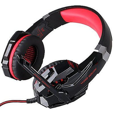3.5mm Gaming Headset with Microphone, TurnRaise EACH G9000 Over Ear Gaming