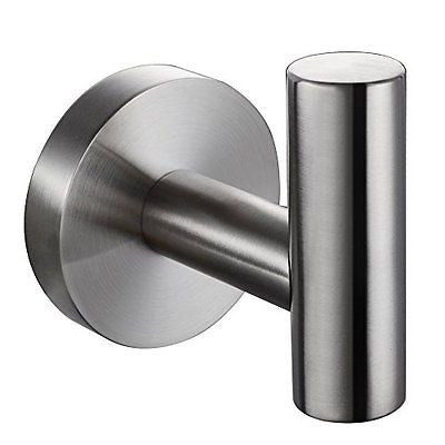 KES SUS 304 Stainless Steel Coat Hook Towel/Robe Mounted Brushed Finish