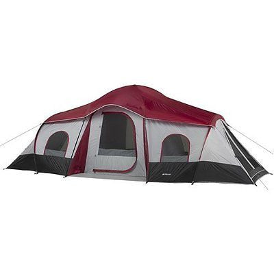 Ozark Trail 10-Person 3-Room XL Family Cabin Tent