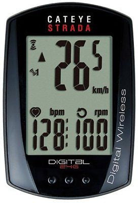CatEye Strada Digital Wireless Bicycle Computer w/Speed/Cadence/Heart Rate