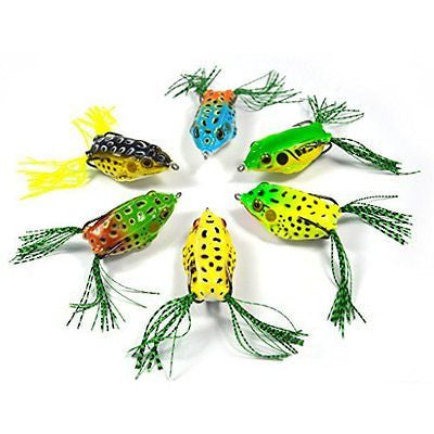 Supertrip Topwater Frog Crankbait Tackle Crank Bait Bass Soft Swimbait Lures