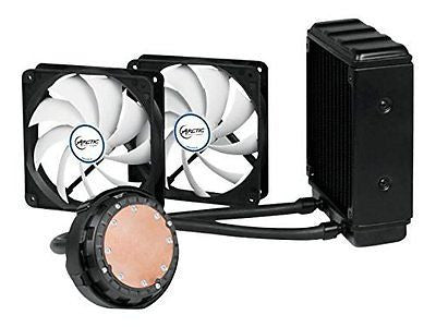Arctic Liquid Freezer 120 CPU Cooler with 120mm PWM fans, Fluid Dynamic Bearing,