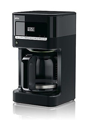 Braun KF7000BK Brew Sense Drip Coffee Maker, Black