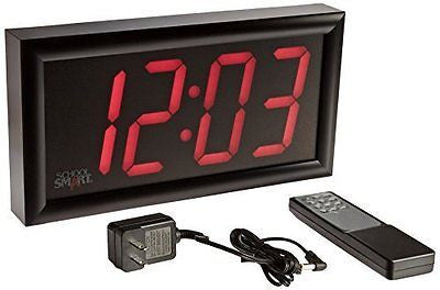 School Smart 090525 Classroom LED Clock