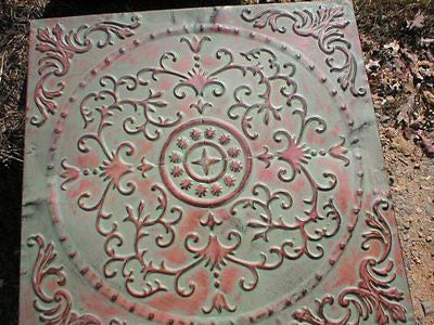 Stepping Stone Mold Giant English Victorian Flower Design Mould Concrete