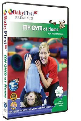 BabyFirstTV Presents My Gym at Home- Fun with Monique