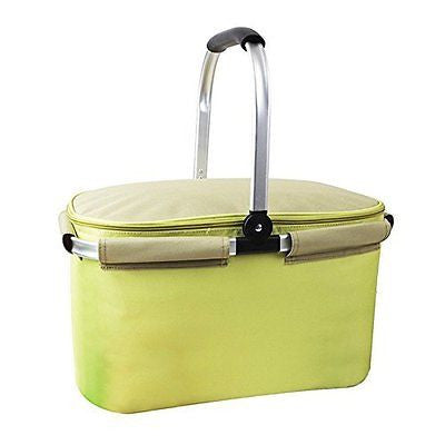Yodo 22L Soft Picnic Basket - Large Cooler Compartment Insulated up to 4 hours