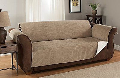 Microsuede Furniture Protector and Slipcover with Anti-slip Non-slip Backing