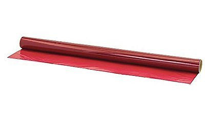 Hygloss 7602 Cello Gift Wrap Roll, 20-Inch by 5-Feet, Red