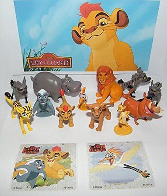 Disney The Lion Guard Deluxe Party Favors Goody Bag Fillers Set of 14 Figures