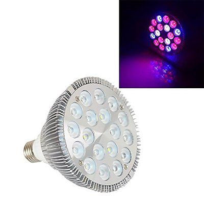 54W E26 PAR38 Full Spectrum LED Grow Light Bulb For Plants Seeding and Growing