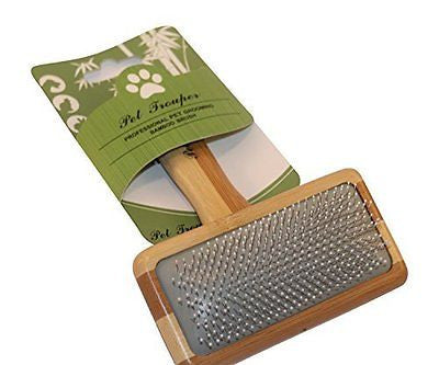 Pet Trouper Grooming Deshedding Slicker Brush. NO.1 For Detangling & Dematting S
