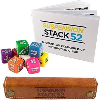 TRX Exercise Dice by Stack 52. For TRX, WOSS, and Similar Suspension Trainers. S