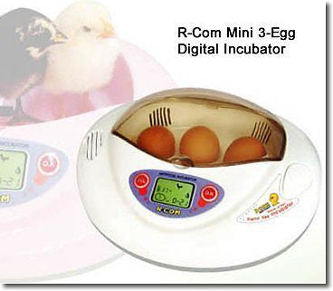 R-Com Mini egg incubator Set complete with accessories