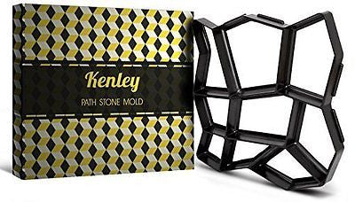 Kenley Path Maker Mold - Reusable Concrete Cement Stone Design Paver Walk Maker