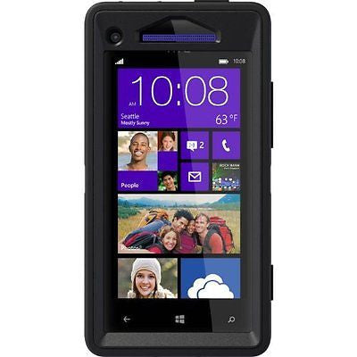 OtterBox Defender Series Case for HTC Windows Phone 8X - Retail Packaging
