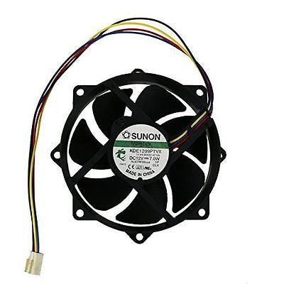 Swellder Sunon Kde1209ptvx CPU Round cooling Fan 12v 7w 4pins 80mm X25mm
