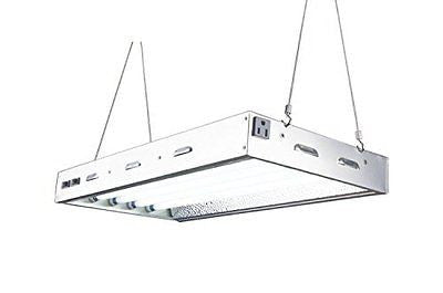 Durolux - 2 FT 4 Bulbs T5 HO Indoor Grow Light - DL8024 Fluorescent Fixture Veg