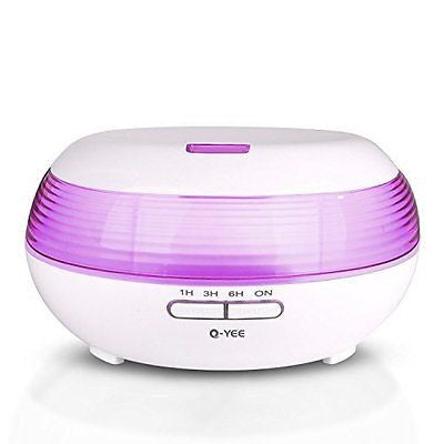 300ml Aromatherapy Essential Oil Diffuser Q-YEE Cool Mist Air Humidifier