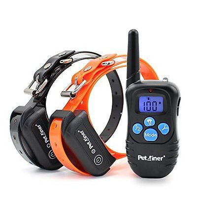Petrainer PET998DBB 330 Yards Remote Dog Training E-collar with Beep