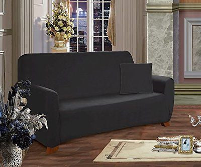 Elegant Comfort Collection Luxury Soft Furniture Jersey STRETCH SLIPCOVER