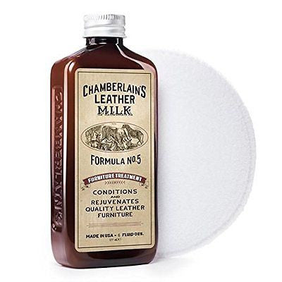 Furniture Treatment Formula No. 5 | Leather Conditioner & Cleaner