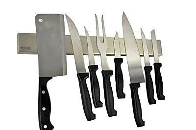 Magnabode Magnetic Knife Strip Stainless Steel Magnetic Knife Block
