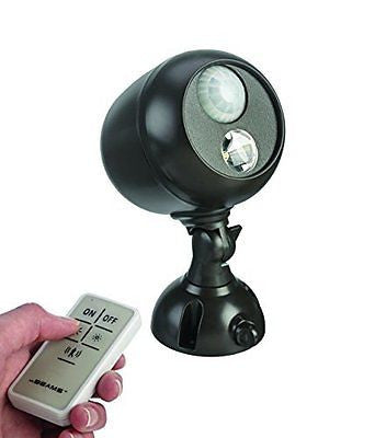 Mr. Beams MB371 Remote Controlled Battery-Powered Motion-Sensing LED Outdoor