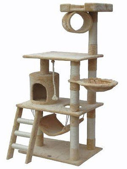 Go Pet Club Cat Tree Furniture 62 in. High