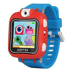 AGPtEK Kid Smartwatch with 90 Degree Rotating Camera, Video Recording, Games