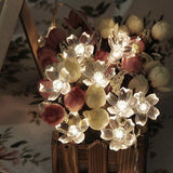Battery Operated StringLightsLED SakuraFairy Light Flower for Bedroom