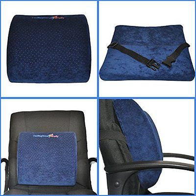 Lower Back Pain Cushion Office Chair & Car Seat Back support